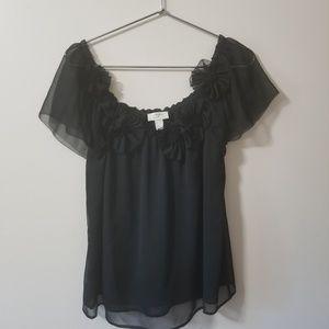 Ann Taylor - LOFT gorgeous blouse